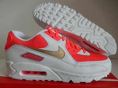 Details about NIKE AIR MAX 90 ID GOLD NAVY BLUE WHITE RED SZ 8.5 [931902 994]