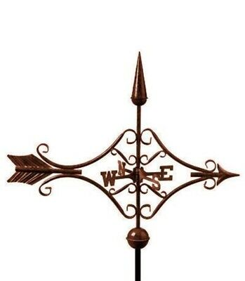 Victorian Arrow Bronze Finish Weathervane
