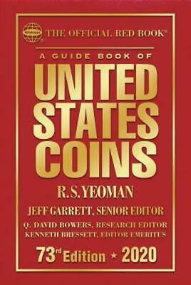 The Official Red Book: A Guide Book of United States Coins Hardcover 2020 73rd