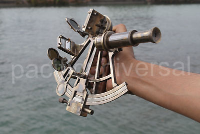 Vintage Collectible Working Sextant Marine Nautical Royal Navy Navigation Item.