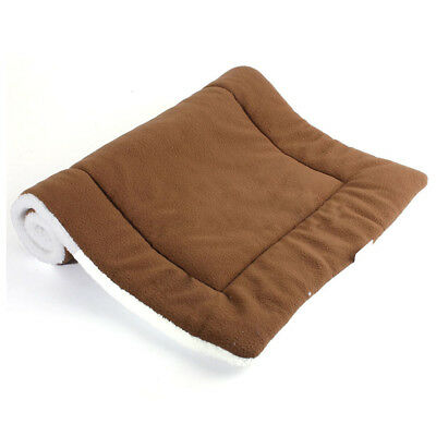 Washable Warm Soft Pet Dog Puppy Cat Kennel Cage Pad Bed Cushion, Coffee M M7M8
