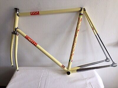 RUCA X BARRY McGEE X CINELLI: SUPERCORSA PISTA FRAME AND FORK