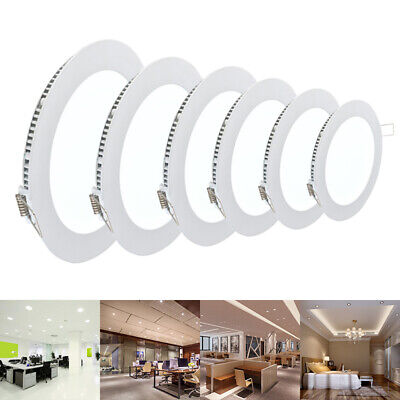 Bright Recessed Ceiling Led Panel Flat Light Downlight Ultra-Thin Indoor-Office