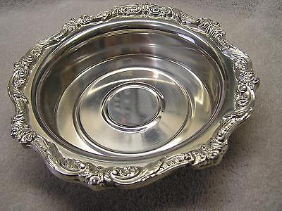 Candy Dish Ornate Silverplate EPCA  Poole Silver Co.
