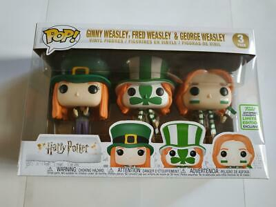 Figurine Funko POP! Harry Potter 3 pack Ginny, Fred & George Weasley