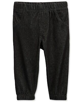 First Impressions Denim Jogger Pants, Baby Boys, Size 3-6 MONTHS