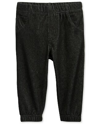 First Impressions Denim Jogger Pants, Baby Boys,Size 6-9 MONTHS