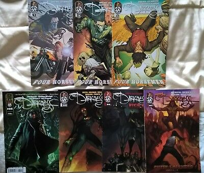 the Darkness: Four Horsemen #1, 3 and 4  plus issues 85 88  89 and 90 .