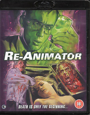 RE-ANIMATOR - Blu-Ray - 2 Disc Special Edition, Includes the Unrated Version !
