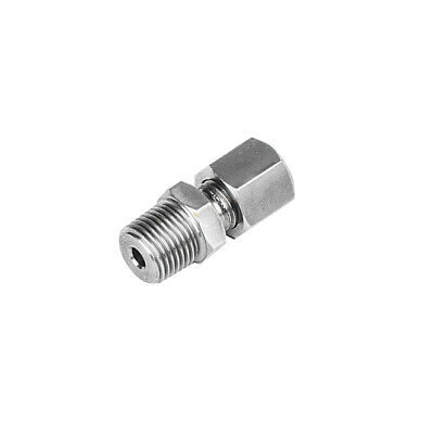 Stainless Steel Compression Fittings NPT Thread Plumbing Coupler Sensor Fittings