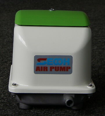 Secoh JDK 100 Series Eco Sewage/ Koi Carp Air Pump (Secoh EL-S-100 Replacement)