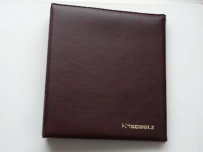 Dark Green COIN ALBUM 11 PAGES FOR 220 COINS ( medium coins £2 ,50p,£1 )SCHULZ