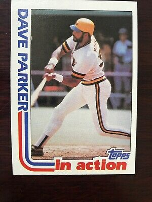 Dave Parker 1982 Topps One Card 063 Picclick