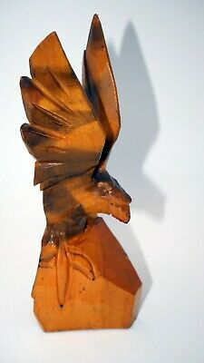 Eagle - Wood carving, carved statuette №5