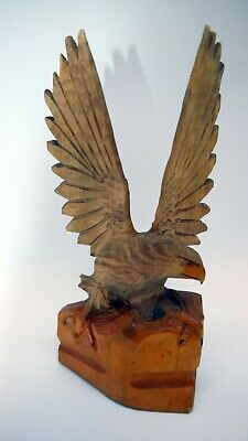Eagle - Wood carving, carved statuette №12
