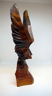 Eagle - Wood carving, carved statuette 4
