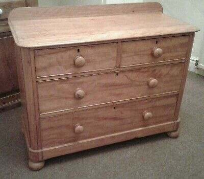 Fabulous Antique Victorian Pine Chest of Drawers