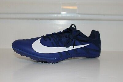 online store 5fbc3 5fede Nike Zoom Rival S 9 Sprint Course Pointes Track Hommes Femmes Bleu Msrp $65  Neuf