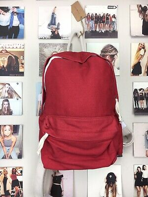 5324bbf111 Authentic brandy melville john Galt Cherry Red backpack Bag Purse Small NWT