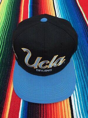 official photos 176b3 1db01 Vintage UCLA Bruins Sports Specialties Script Snapback Hat 90 s NCAA RARE