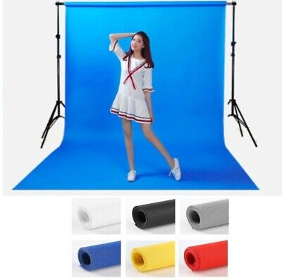 Photography Background 3x1.6m Studio Backdrop Screen Chromakey Non Woven 7colors