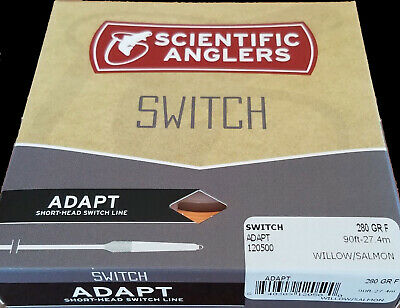 NEW $87 SCIENTIFIC ANGLERS 320 GRAIN ADAPT SWITCH TWO HANDED FLOATING FLY LINE
