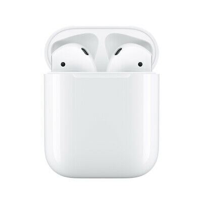 New Genuine Apple AirPods 2nd Generation with Charging Case MV7N2AM/A 2nd Gen