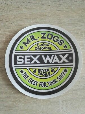 !! Sticker SEX WAX grand format - surf - skate - kite !!