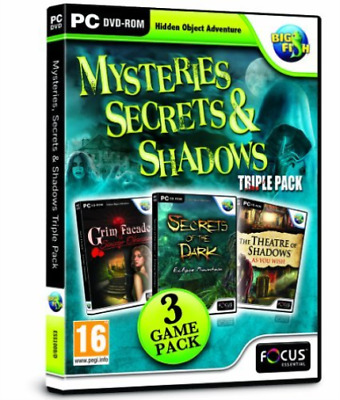 Mysteries, Secrets and Shadows Triple Pack GAME NEW
