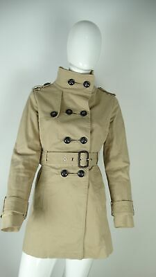 sports shoes d81a5 30844 ZARA GIUBBOTTO IMPERMEABILE Giacca Jacket Donna Beige Tag Size L