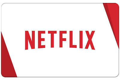 Netflix Gift Card - $30, $50, $75 or $100 [HEAVILY DISCOUNTED]