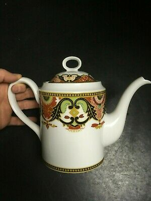 Imperial Imari by Briard, Georges Coffee Teapot Red, Gold, Black, Green Decor