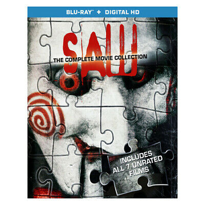 Lions Gate Home Ent Br46260 Saw-Complete Movie Collection (Blu Ray W/Digital ...