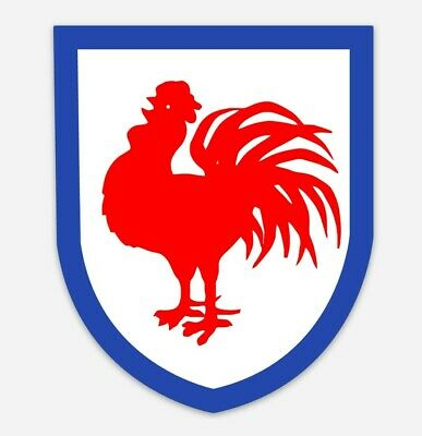 Roosters Decal Sticker Retro Easts 10cm x 8cm