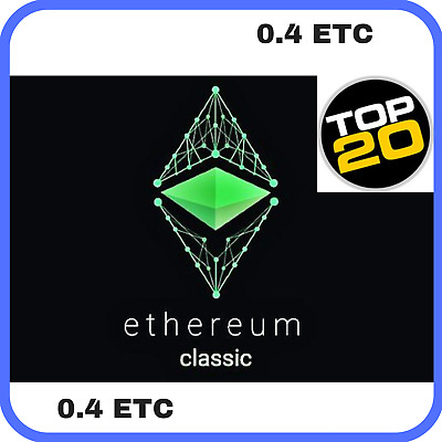 0.4 Ethereum-Classic (ETC) CRYPTO MINING-CONTRACT ( 0.4 ETC )