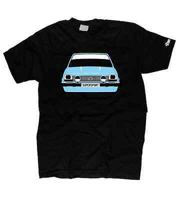 MK1 XR2 FIESTA CLASSIC FORD RETRO CAR HOODIE DTG ALL SIZE/&COLOURS AVAILABLE R24