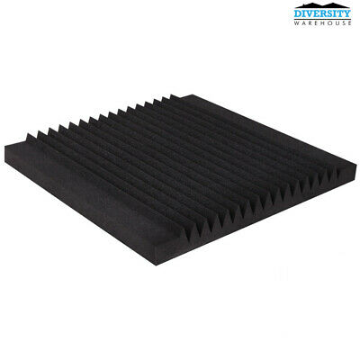 20pcs 50x50CM Studio Acoustic Foam Panel Wedge Tape