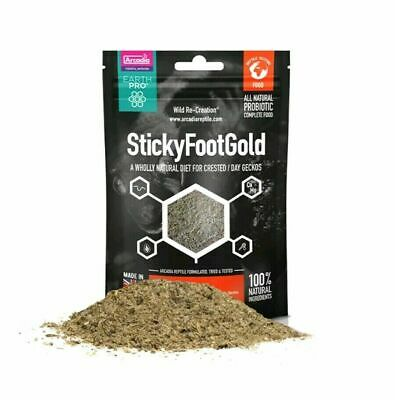 Arcadia Earth Pro Stickyfoot Gold 50g Complete food Crested Gecko Diet