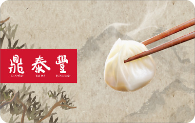 Din Tai Fung Gift Card $25, $50, $75 or $100 [HEAVILY DISCOUNTED]