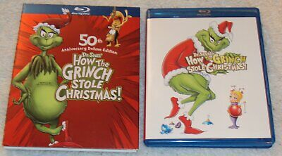 Dr. Seuss How the Grinch Stole Christmas Blu-ray 50th Anniversary Deluxe Edition