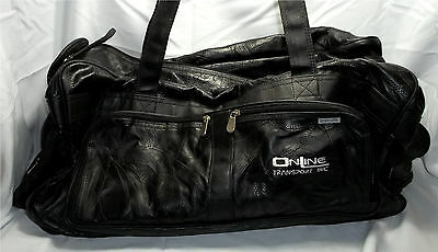 Sport Duffel Leather - Fast Shipping