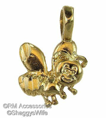 Bumble Bee Charm Pendant EP Gold Plated Jewelry with a Lifetime Guarantee