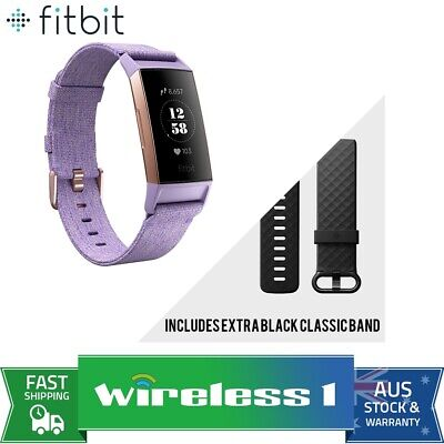 Fitbit Charge 3 Special Edition Fitness Tracker - Lavender/Rose Gold