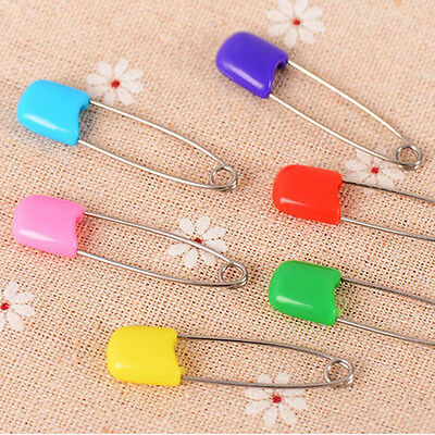 10PC Assorted Baby Cloth Diaper Nappy Craft Pins Safety Locking Hold ClipHotSale