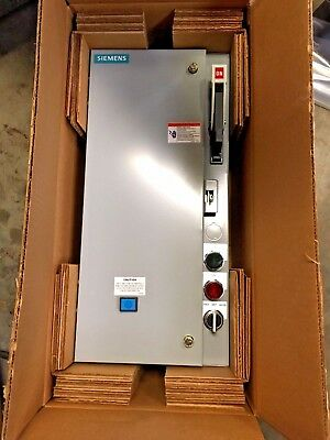 Siemens 17CSD92BF11 Furnas Fusible Combination Starter Disconnect A3 CPT FJ FB