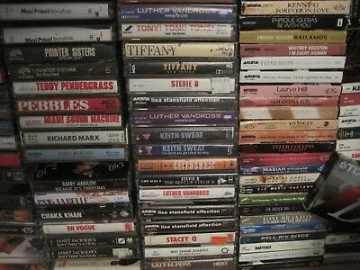 Cassette Blowout Rock Pop R&B and more ONLY $1 EACH