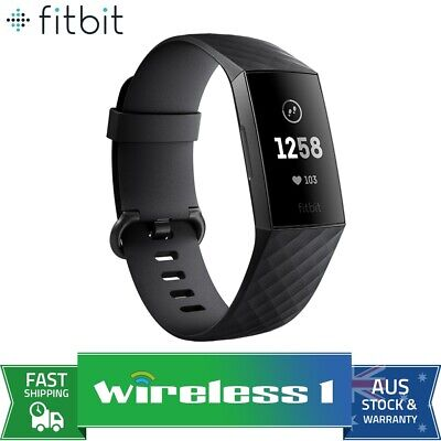Fitbit Charge 3 Fitness Tracker - Graphite/Black
