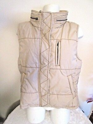 Nwt Ralph Lauren Women's/ Girls Puffer Vest - Polo Jeans  Beige Color Size Small