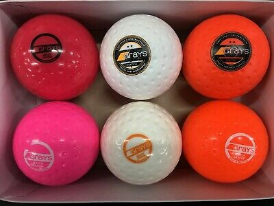 GRAYS Match Crater Hockey Ball - *PACK OF 6*