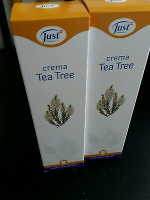 Crema dermoprotettiva TEA TREE JUST 100 ml 2 confezioni cad 100ml